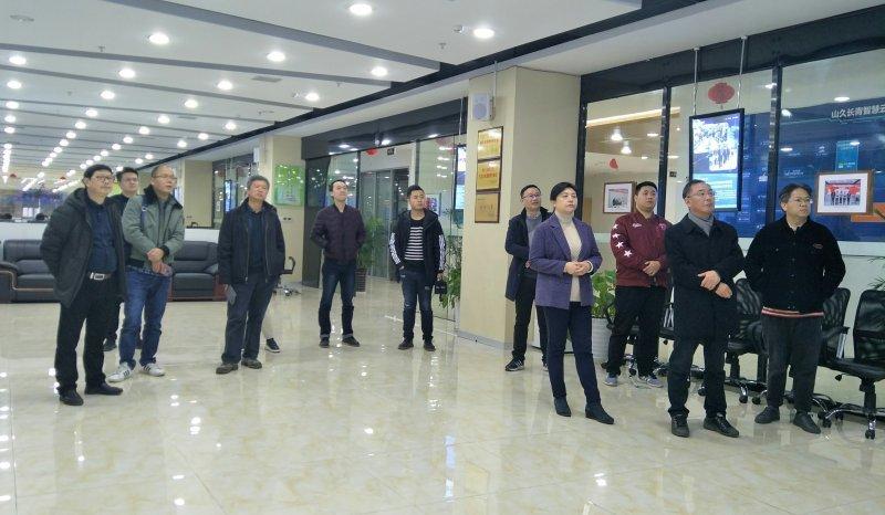 贵州省科学技术厅副厅长安守海领导